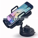 Qi Car Wireless Charger Cradle with 5V DC Power Supply for Qi-enabled Smartphones and Devices -