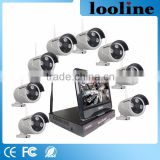 Looline 720P 8Channel Net Video Recorder Wireless CMOS Camera Module Remote Control Bluetooth Camera