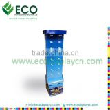 Four sides cardboard hook display stand , paper hanger display stand for promotional gifts