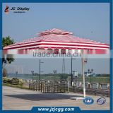 New Products 2015 Wooden Outdoor Garden Umbrella