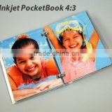 promotion photo gift note book 4:3 only make by hands,no machine just need software to design with home printers