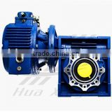 Combination of wj MB002-NMRV063 automatic transmission agriculture,planetary helical bevel gearbox, speed reducers for conveyor