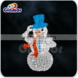 LED cute smile colourful christmas 3D motif snowman