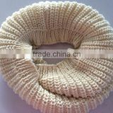 Hot Sale Fat Acrylic Soft Chunky Knitting Infinity Scarf Neck Warmer