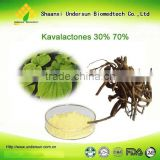 Cas 9000-38-8:Free Sample Accept/High Quality Kava Extract powder with 30% 50% 70%