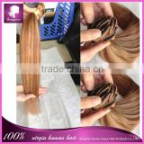 100% unprocessed virgin peruvian hair straight clip in hair extension alibaba express china