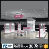 Modern luxury commercial customized wood clothing display cabinet for men' clothing shop design                                                                                                         Supplier's Choice
