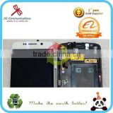 for samsung galaxy s6 edge lcd touch screen assembly with frame , for samsung galaxy s6 edge SM-G925 lcd with frame