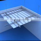 metal aluminum strip ceiling tile, false ceiling, suspended ceiling                                                                         Quality Choice