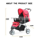 3-wheel Jogger Baby Stroller Pushchair with Removable Tray D803K