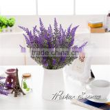 Hot sale beautiful artificial lavender bonsai fake potted lavender blossom for decoration