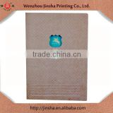 Fancy cover book printing&sewing binding,Bulk stitched binding paper notebooks,B5 sew binding kraft paper notebook02