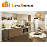 Hot-selling Waterproof MDF Kitchen Cabinet with HPL treatment                                                                         Quality Choice                                                     Most Popular