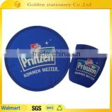 folding promotion flying disc foldable nylon frisbee fan                                                                         Quality Choice