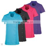 Ladies Women Wrap Beauty Tunic Health Beauty thai Spa Hair salonTop Uniform                                                                         Quality Choice
