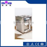 Commercial Counter Top Digital Three Flavors Soft Ice Cream Machine For Sale