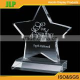 JLP Hot 2016 new design acrylic award and crystal trophy,trophy parts                                                                         Quality Choice