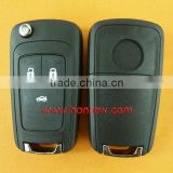 High quality Chevrolet 3 Button remote key with 433mhz, chevrolet cruze key,key car chevrolet free shipping 60% by DHL