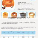 2016 Canton fair Taizhou Flexible Red/Yellow and Blue Color PVC hoses
