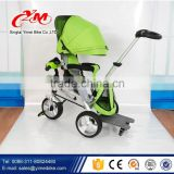 Hot selling Baby stroller tricycle / baby carriage three wheel kids folding tricycle / new model ride on car kids tricycle toy