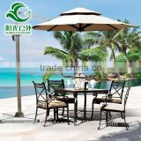 Manufacuture wholesale martini outdoor sun garden parasol umbrella parts
