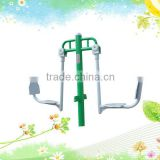 Green seated leg stretcher outdoor school gym equipment