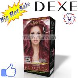 light copper brown hair color cream with Dexe high profit margin product for hair color dye