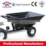 TUV Verified 300KGS Utility Off RoadPlastic ATV Tipping Trailer