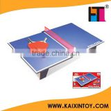 EN71 Approval Kids toys wooden Ping Pong Table sports toys for children for 5 years olds