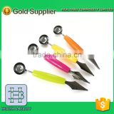 melon slicer as seen on tv/Dig Ball Tools/Ice Cream Scoop/DIY Fruit Platter Assorted Cold Dishes Tool
