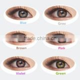 cheap free color contacts Giyomi Bambi 15mm 3 tone korea cosmetic 1 year contact lenses