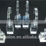 Clear Plastic Acrylic c ring holder for watch display