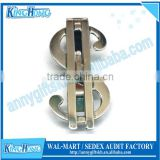 Wholesale dollar sign promotional antique spring money clips