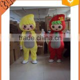 2015 Hot Sell custom plush professional cartoon character mascot costumes / fruit carnival costume for performance/ promotion