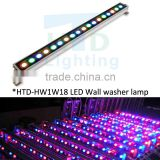 dmx controlling color changing led wall washer led lamp
