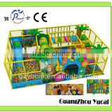 Kids indoor playground equipment with ball pool