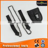 camping chainsaw Black/Customized color is accepted, pocket chain saw,camping folding hand saw
