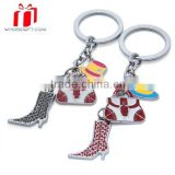 wholesale Zinc Alloy Photo Frame Keyrings Metal Blank Photo Keychains For Promotion Gift