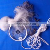 Casting nets with lead chain