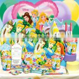 Themed Girls Birthday Party Supplies & Decorations Princess Cinderella Belle Sleeping Beauty Birthday Party Supplies
