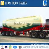 CE certification bulk cement semi trailer truck trailer, pulverized fly ash coal ash powder tank