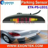 China manufacturer wholesale reverse parking sensor car reverse aid reverse radar sensors with diameter size 18-19-21-22MM