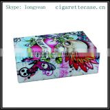 fancy colourful Aluminum cigarette box full be printed for 20s kind size 85mm cigarettes