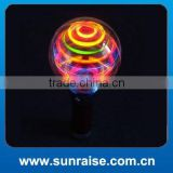 Flashing Spinning Ball