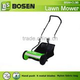 "15"" Hand Push Reel Lawn Mower with Aluminium Plate"
