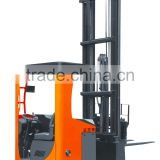 1 Ton electric reach forklift truck seated operation type with 2-stage mast and UAS CURTIS controller