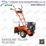 6.5HP Mantis Gasoline Garden Small Tractor Pto Rotary Tiller Spring Tines Cultivation Machine