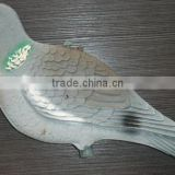 OEM HDPE plastic bird decoy,Fire bird,plastic pigeon decoy,hunting decoy bird