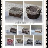Cheap Factory sale various used bakery wicker storage basket