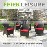 FEIER A6013CH Wicker Woven Furniture Set Round Table and Chair Set Rattan Dining Set Wicker